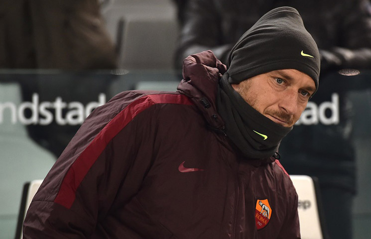 """Totti: """"Romi nedostaje Juventusova istrajnost"""""""