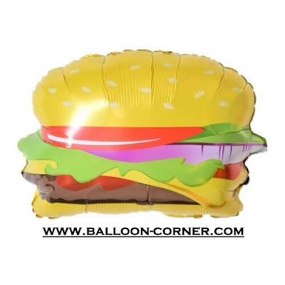 Balon Foil HAMBURGER