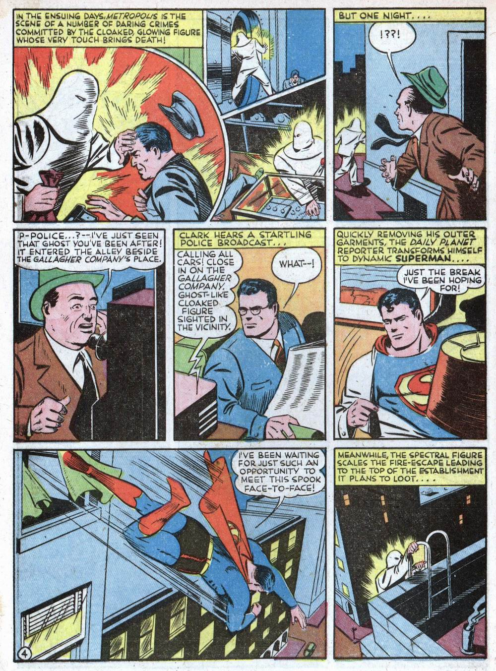 Read online Action Comics (1938) comic -  Issue #39 - 6