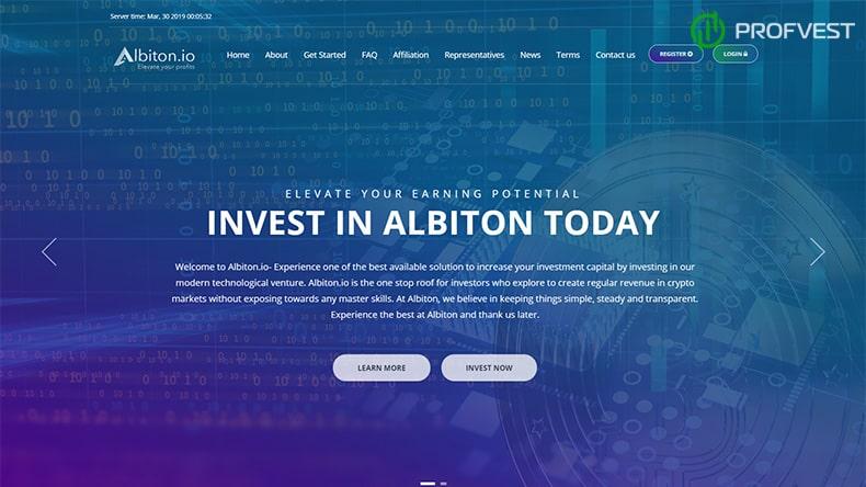 Albiton обзор и отзывы HYIP-проекта