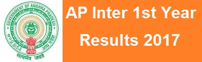 ap inter 1st year results 2017 manabadi