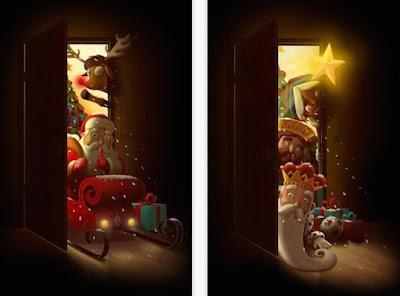 Recrea la visita más esperada de la Navidad en tu salón Menuda Tribu shackleton santapp
