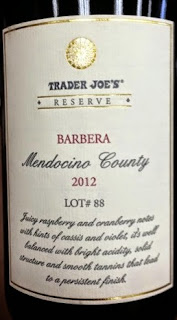 Trader Joe's Reserve Barbera (California)