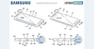Layar Lengkung Samsung Terbaru, untuk Galaxy S9?