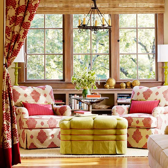Green Living Room Ideas In East Hampton New York: Hydrangea Hill Cottage: Meg Braff