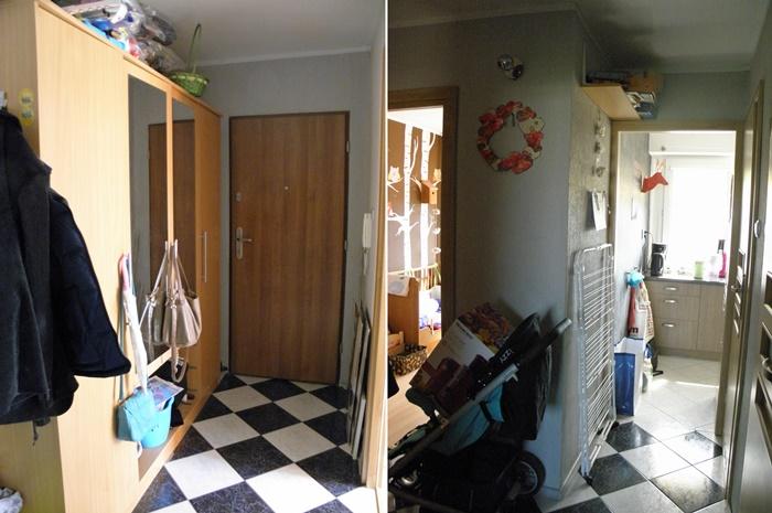 przedpokój do remontu | Wyzwanie wykończ dom z House Loves | lvlupstudiio.pl