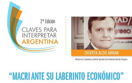 """#Salta Conferencia """"Macri ante su laberinto económico"""""""