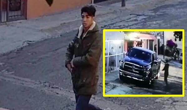 Así roba un menor de veinte años una camioneta en el EDOMEX. #VIDEO