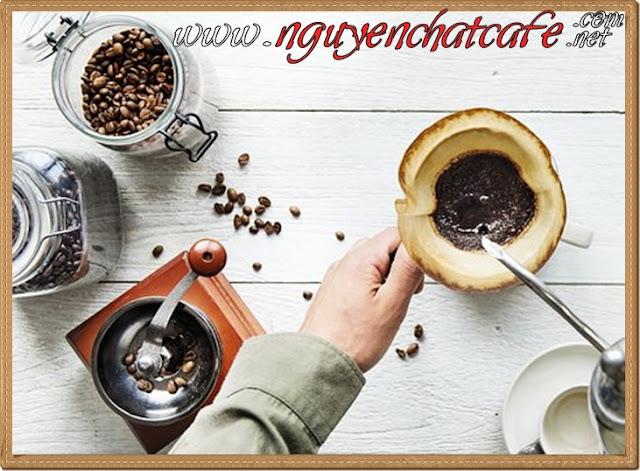 Cà phê hạt rang xay nguyên chất lên ngôi