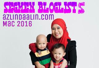 Segmen Bloglist Azlindaalin.com