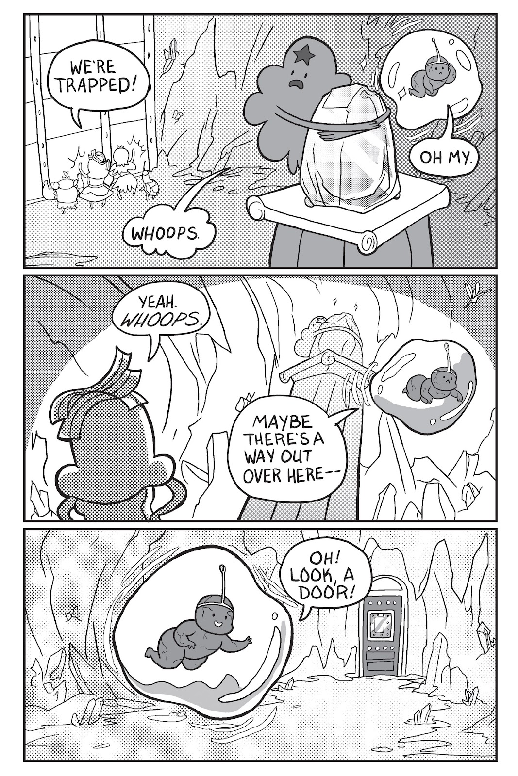 Read online Adventure Time: Pixel Princesses comic -  Issue # Full - 73