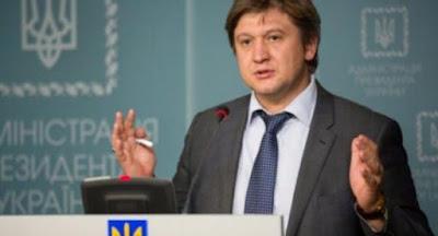 Прокуратура объявила подозрение в неуплате налогов министру финансов Данилюку