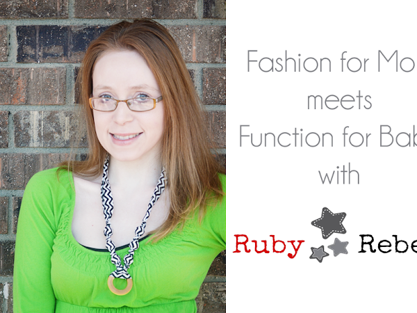 Fashion for Mom Meets Function for Baby with Ruby Rebels {A Review}