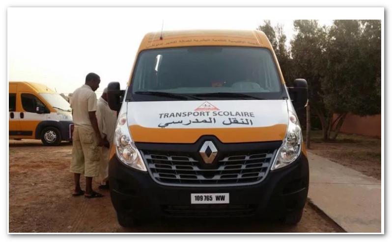 إنزال طفل في الخلاء من سيارة النقل المدرسي بسبب 70 درهم