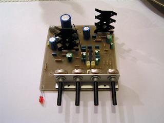 Placa de circuito impresso.