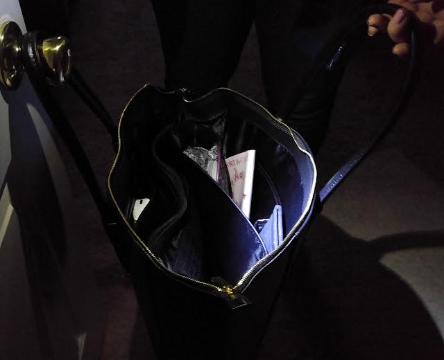 Joy & IMAN best friend city satchel with flashlight attached
