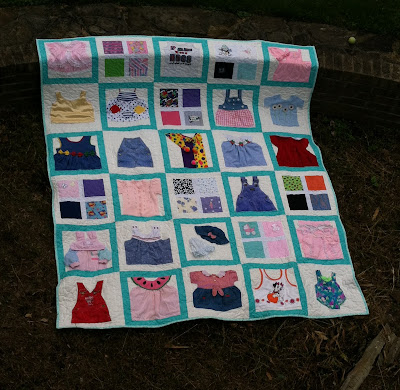 Memory Quilt, Quilts From Clothing