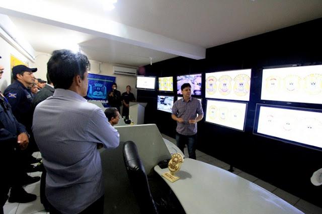 Nova Central de Monitoramento da Guarda Municipal de Corumbá (MS) pode operar até 170 câmeras