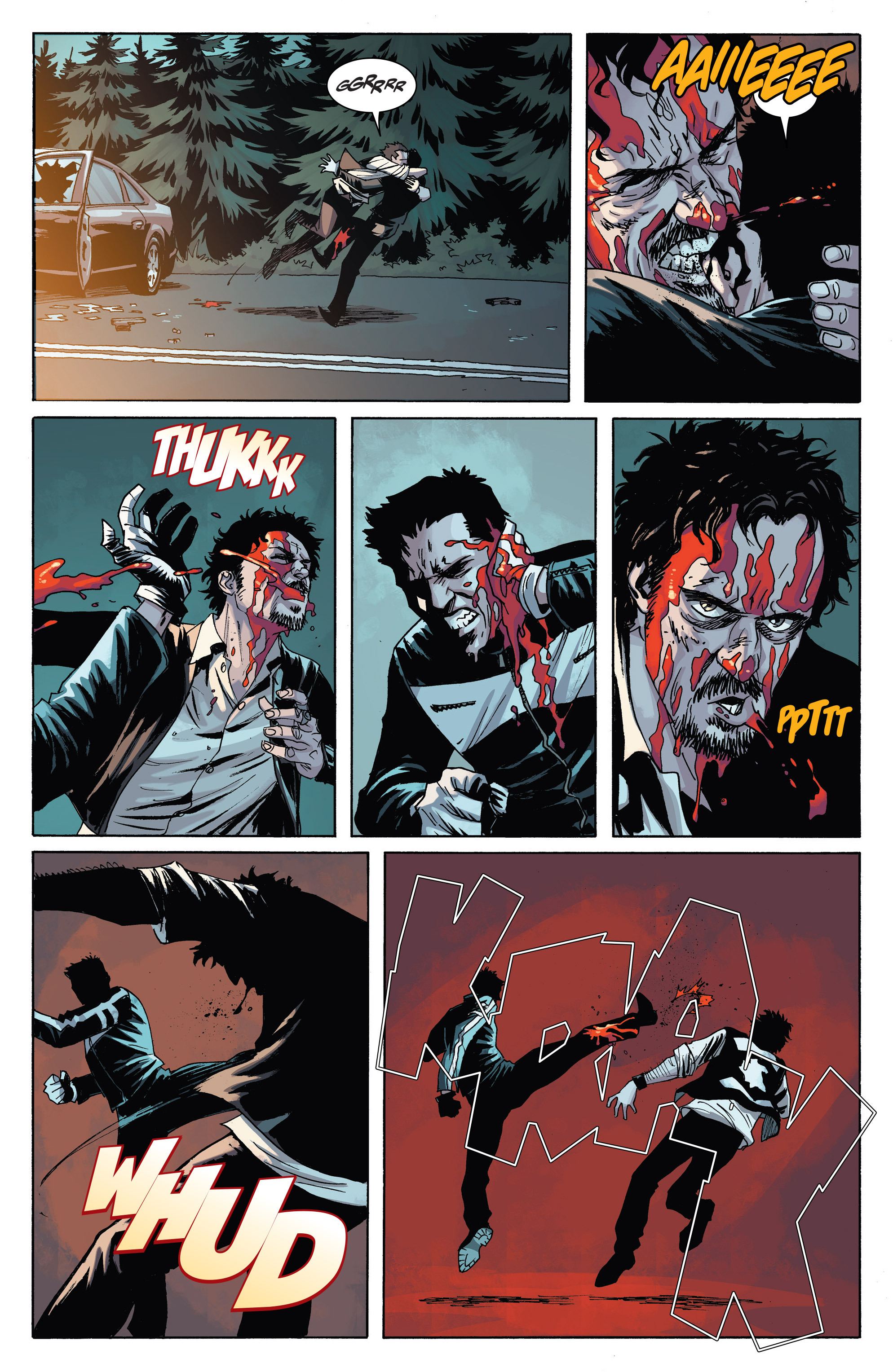 Read online Sons of Anarchy comic -  Issue #6 - 23