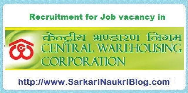 Naukri Vacancy Recruitment CWC