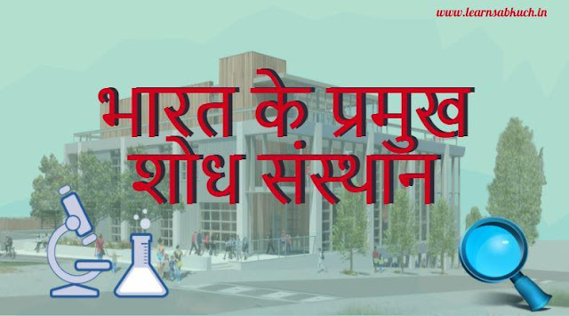 India's Leading Research Institute