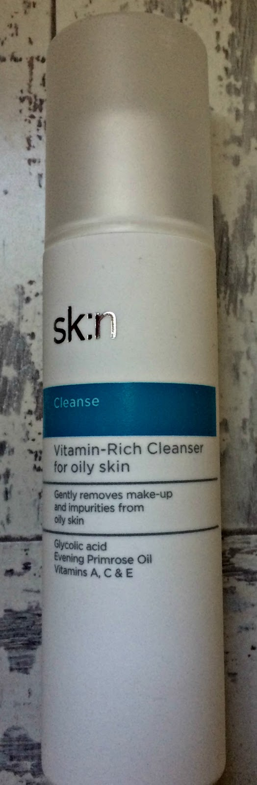 sk:n Cleanse: Vitamin-Rich Cleanser for oily skin