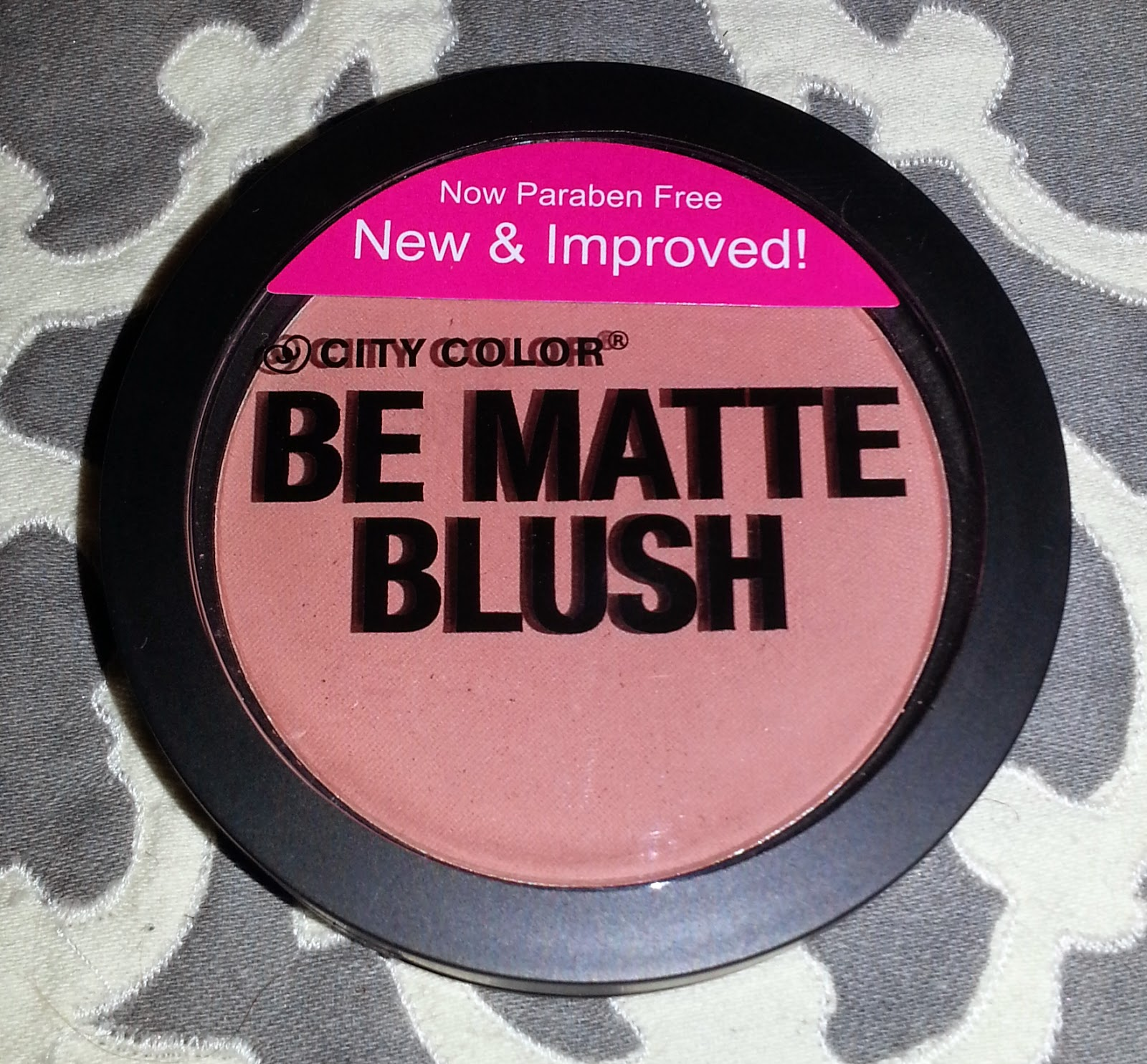 City Color Be Matte Blush in Papaya