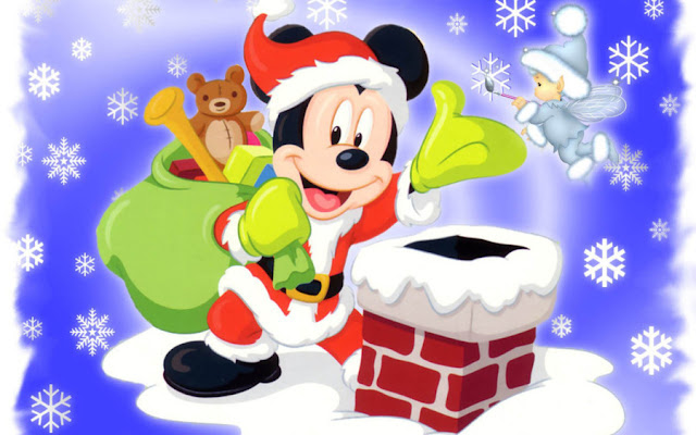 Mickey Mouse Christmas HD Wallpapers Download Free