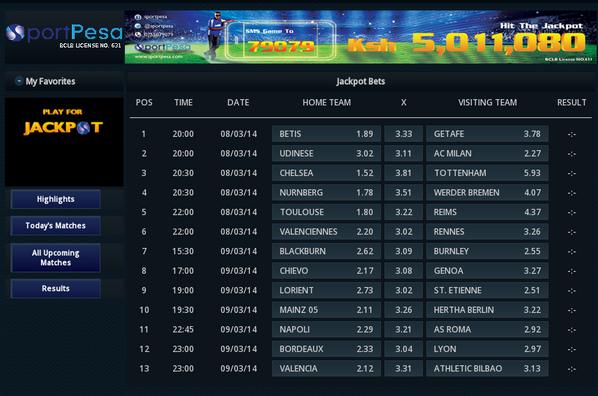 List of sports betting companies in uganda frontline six million dollar betting