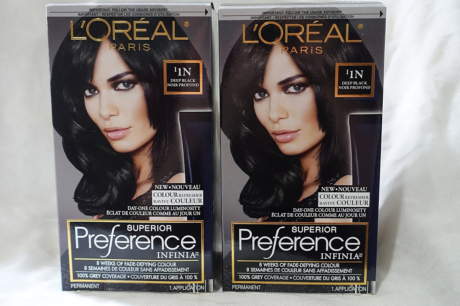 The Blushing Introvert Loreal Paris Preference Infinia Hair Dye