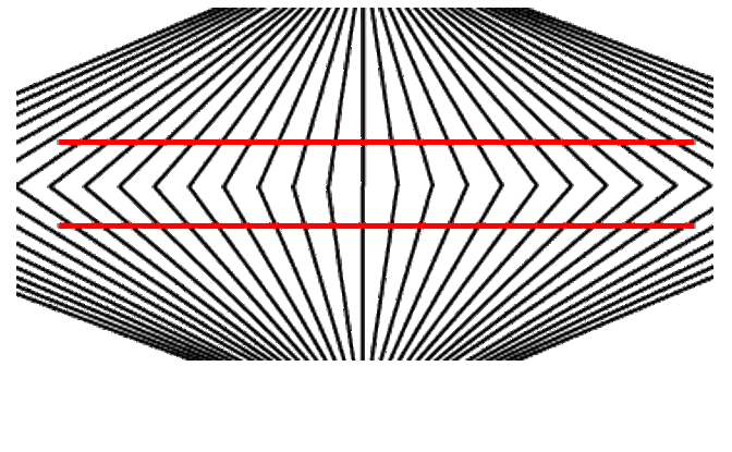 optical lines parallel illusions shape distortion illusion answers straight puzzles