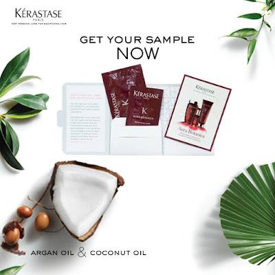 Kérastase Malaysia Free Aura Botanica Sample Giveaway