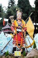 Yalambar statue of Kirati community in Mirik