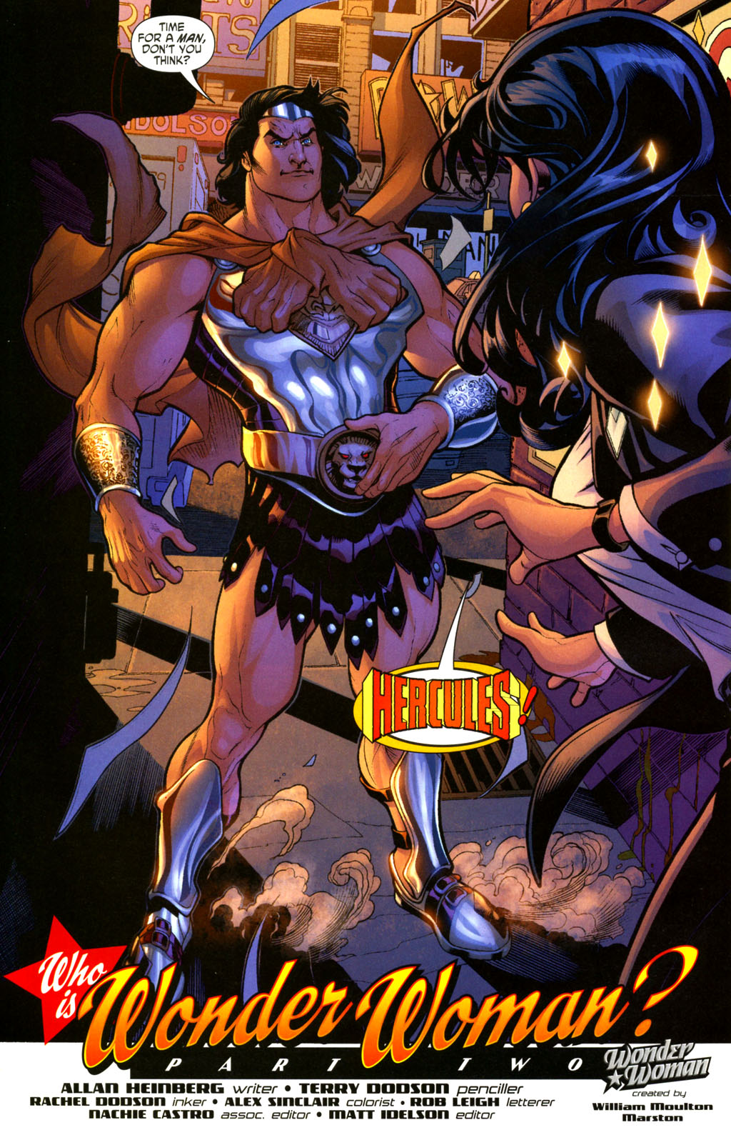 Read online Wonder Woman (2006) comic -  Issue #2 - 23