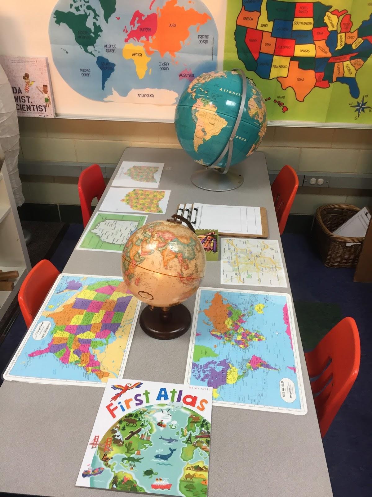 Inquiring Minds: Mrs. Myers\' Kindergarten: Maps and Mandalas ...