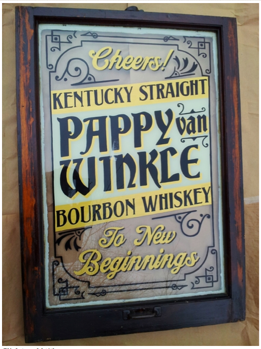 Signs By Bean Pappy Van Winkle Kentucky Straight Bourbon