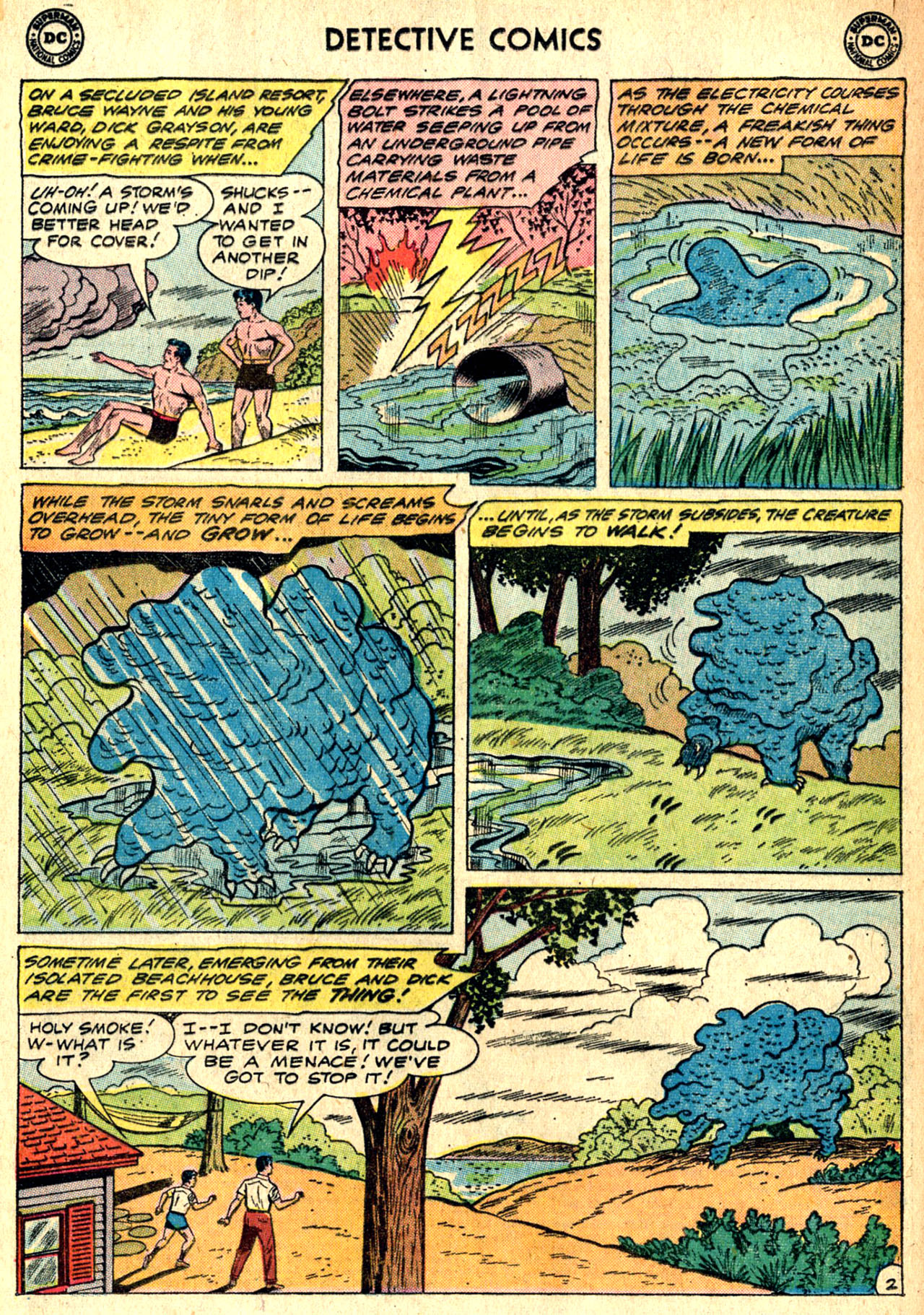 Detective Comics (1937) 288 Page 3