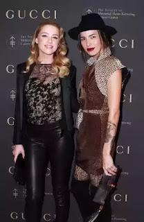 Amber Heard and Taysa van Ree domestic violence