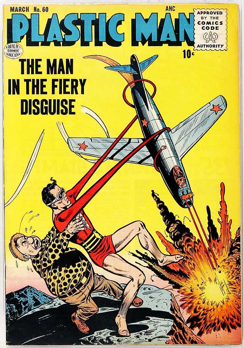 Plastic Man (1943) 60 Page 1