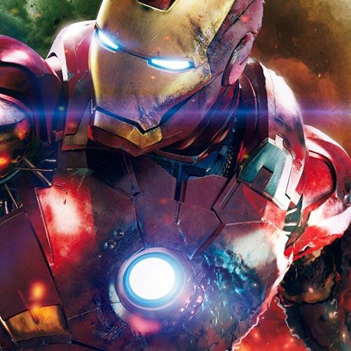 Iron Man Glow Wallpaper Engine