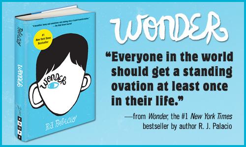 Burning Bright: Book Review: Wonder by R J  Palacio - A