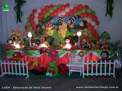 Decoração tema Jardim Encantado - festa infantil