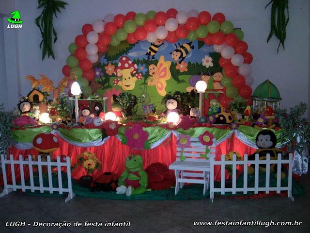 Decoração infantil Jardim Encantado - Tradicional Luxo