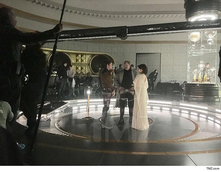 Se filtran imágenes de Woody Harrelson en el spin-off de Han Solo