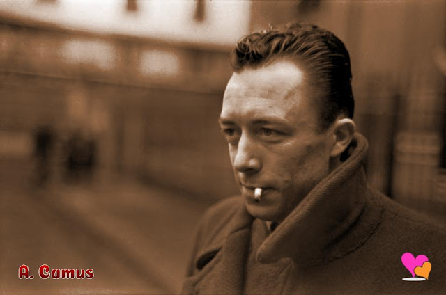 L'écrivain français Albert Camus