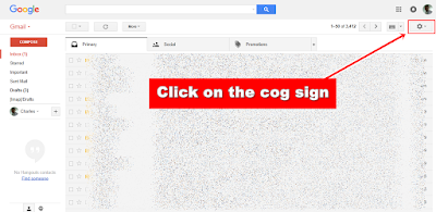 Gmail - cog sign