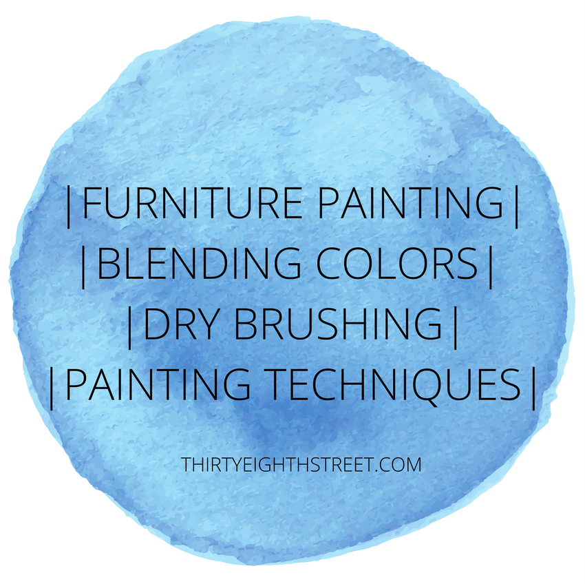 layering paint, layered paint, layering paint on furniture, layering painting techniques, layering paint on furniture, how to layer paint on furniture, furniture painting techniques, how to blend chalk paint, layered painting technique