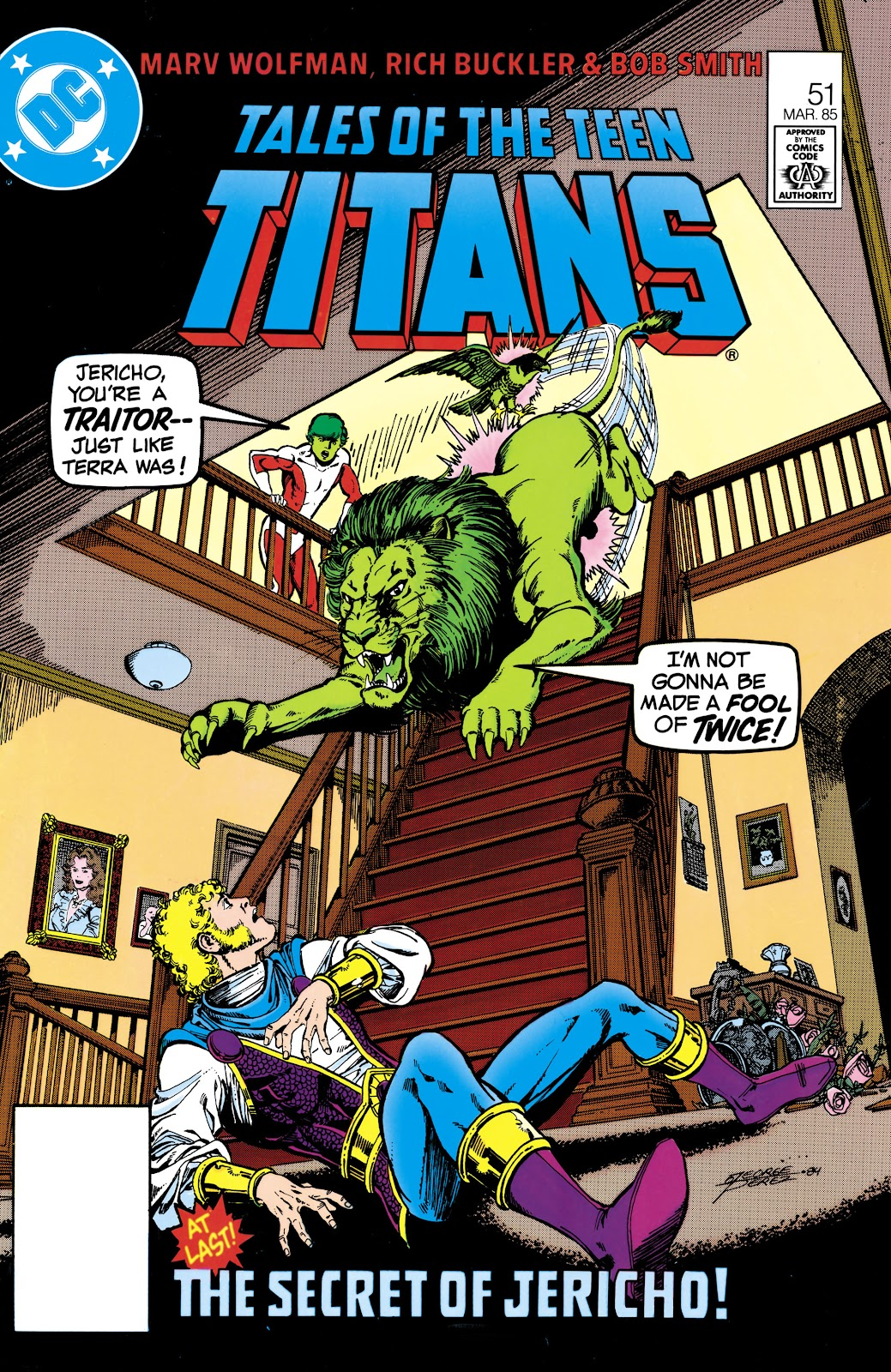 Tales of the Teen Titans 51 Page 1