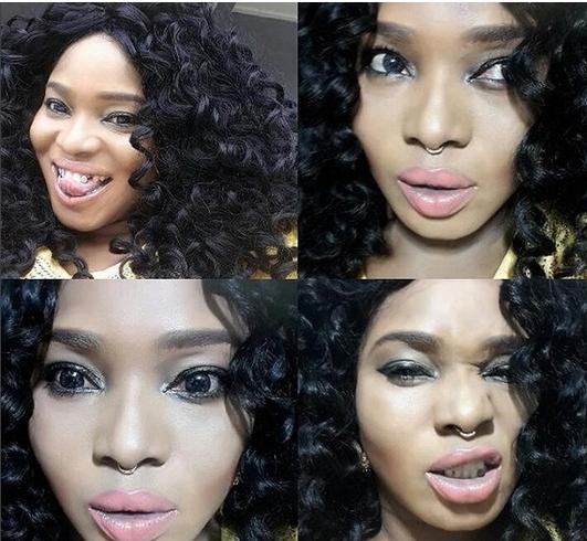 halima abubakar nose ring