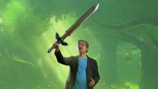 Eiji Aonuma Master Sword Nintendo Spotlight E3 2017